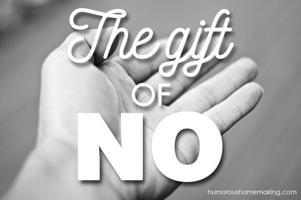 gift of no