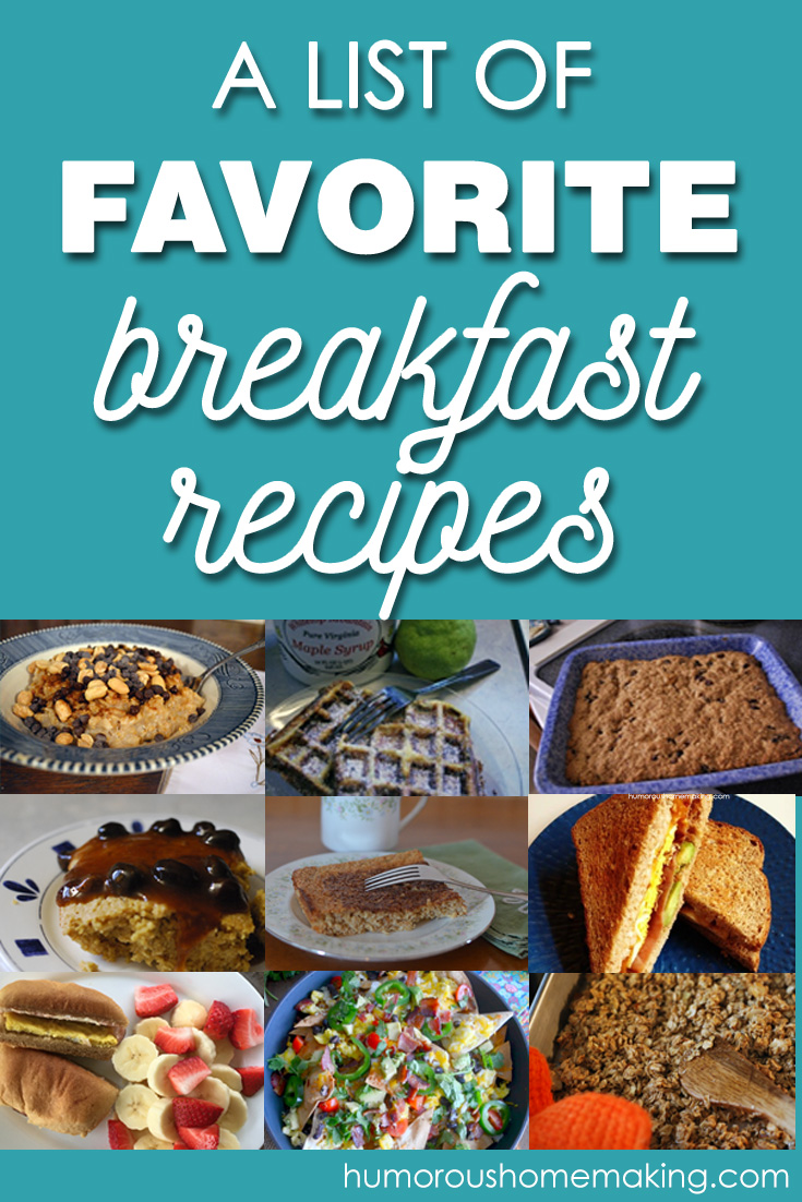 Favorite Breakfast Recipes