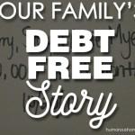 debt free story