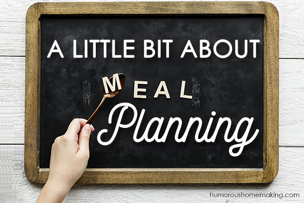 meal planning help