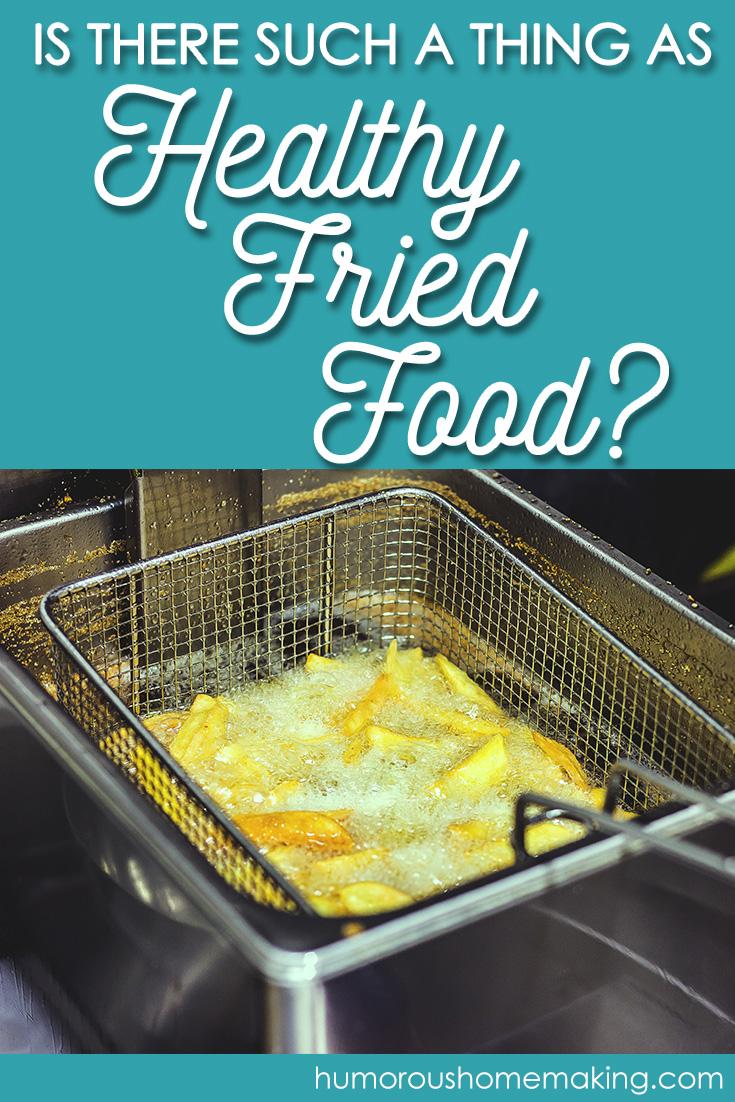 healthy fried food