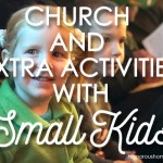 church with small kids