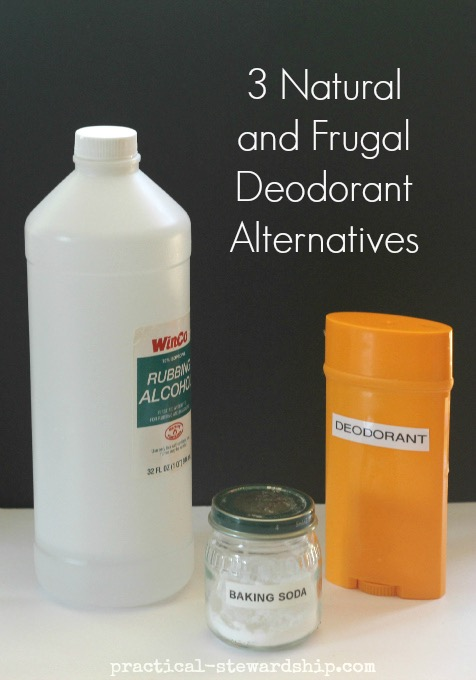 3 Deodorant Alternatives