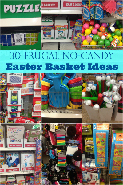 30 Frugal No Candy Easter Basket Ideas