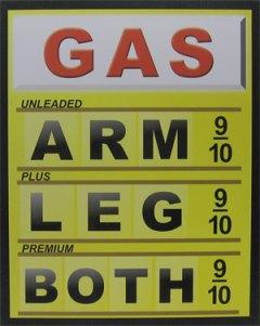 gas arm leg