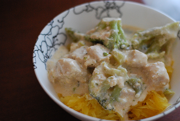 Crock Pot Cheesy Chicken and Broccoli