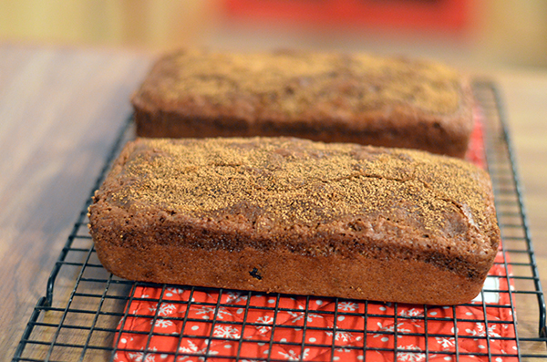 Cranberry Orange Tea Bread