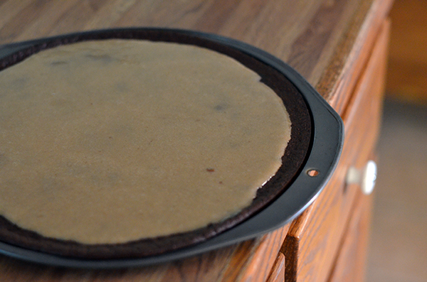 This low carb peanut butter brownie pizza is the bomb! It can even be made sugar free!