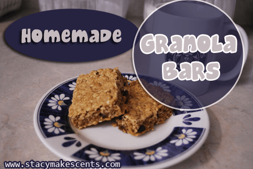A collection of my favorite granola bar recipes from around the web! Try them out and decide which one you like the best.