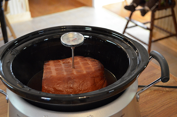 Crock Pot Honey Ham