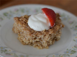 Basic Baked Oatmeal