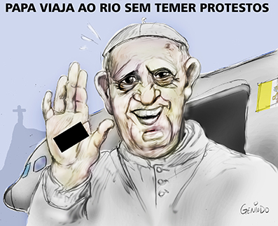 Papa Francisco e os Protestos