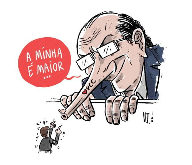 Armas do Alckmin e do Bolsonaro