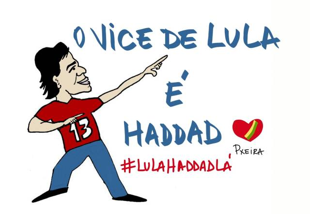 Fernando Haddad Vice do Lula