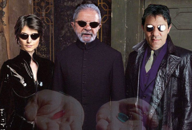Meme Lula Matrix