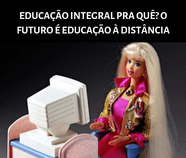 meme barbie educacao bolsonaro