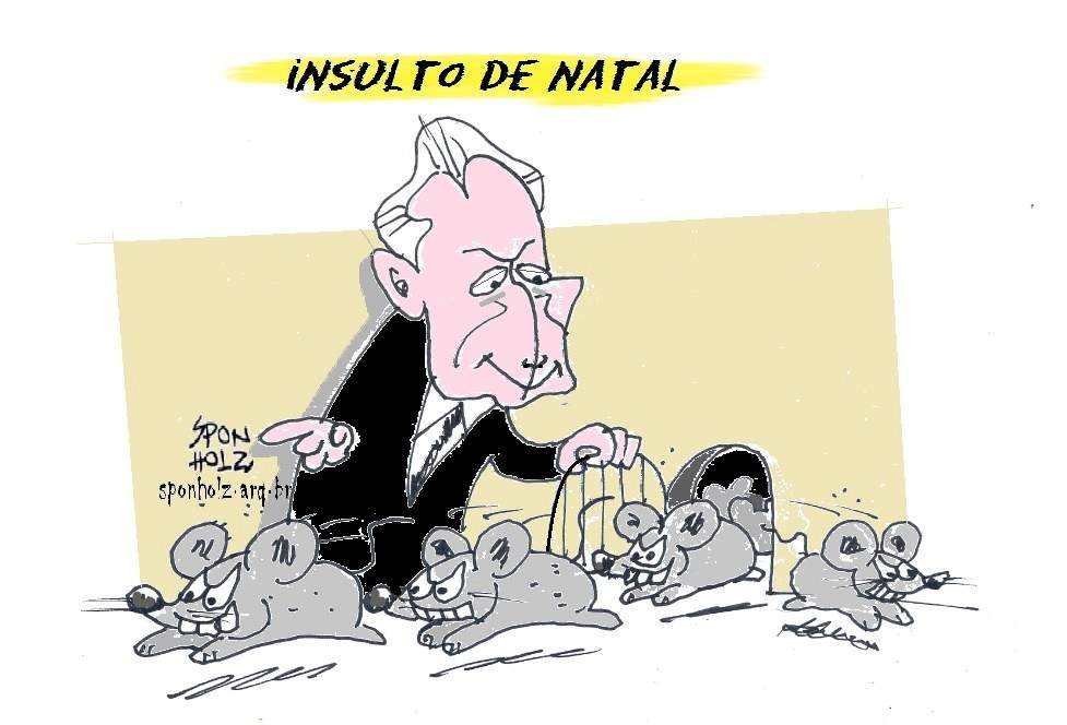Insulto de Natal do Michel Temer