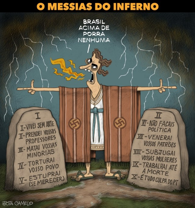 Jair Messias Capeta Bolsonaro
