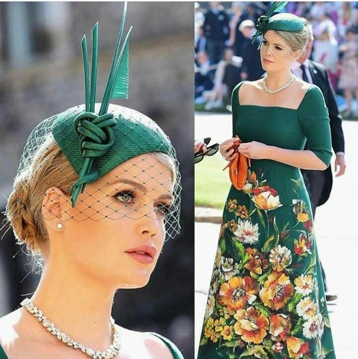 The most stylish fascinators and hats at the Royal Wedding 2018