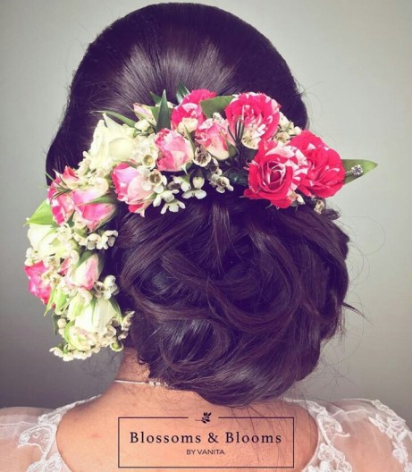 Natural bridal hair flowers accessory