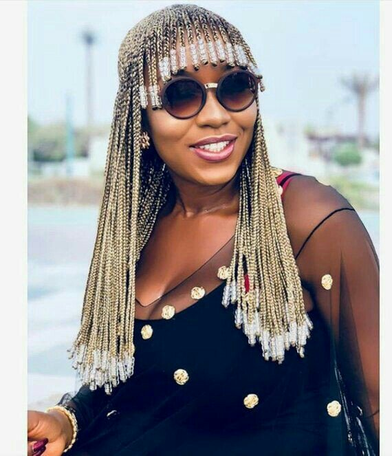 Trending Hairstyle Alert - Box Braids With Fringe | Humour & Style
