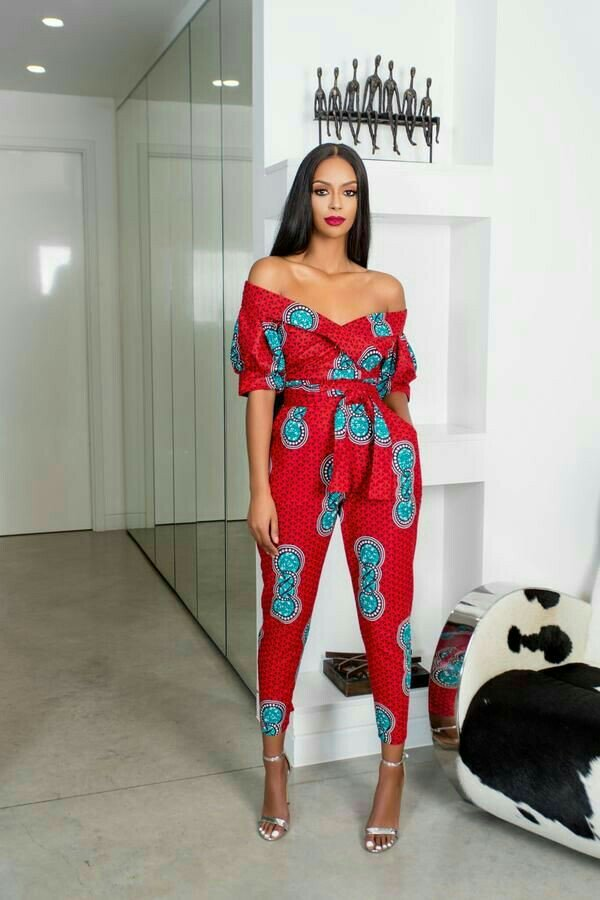 latest Ankara jumpsuit designs for 2019