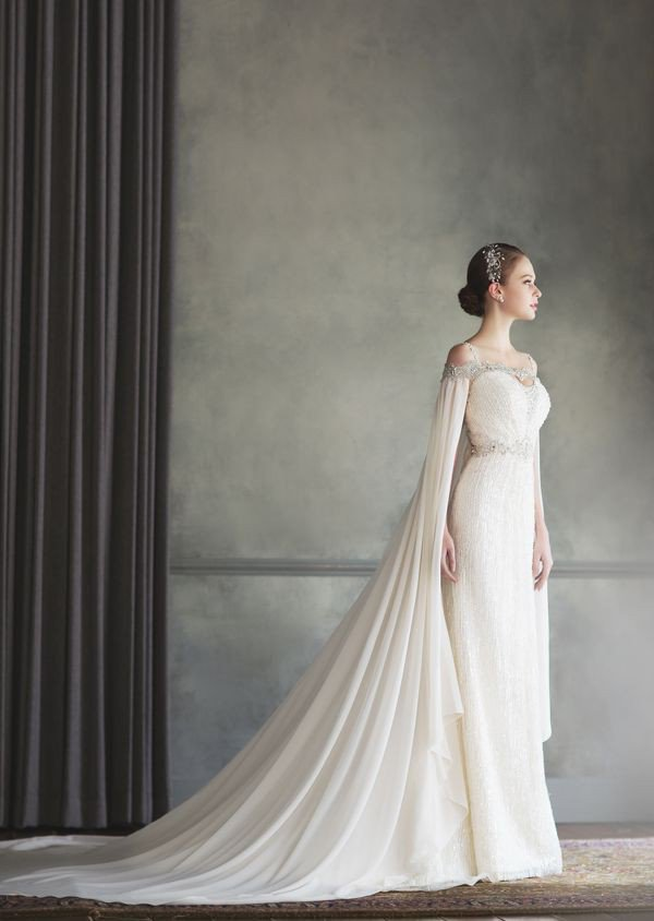 Grecian wedding dress 2019