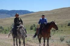 With US Patrol Agent Lee Pinkerton