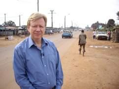 Reporter Humphrey Hawksley
