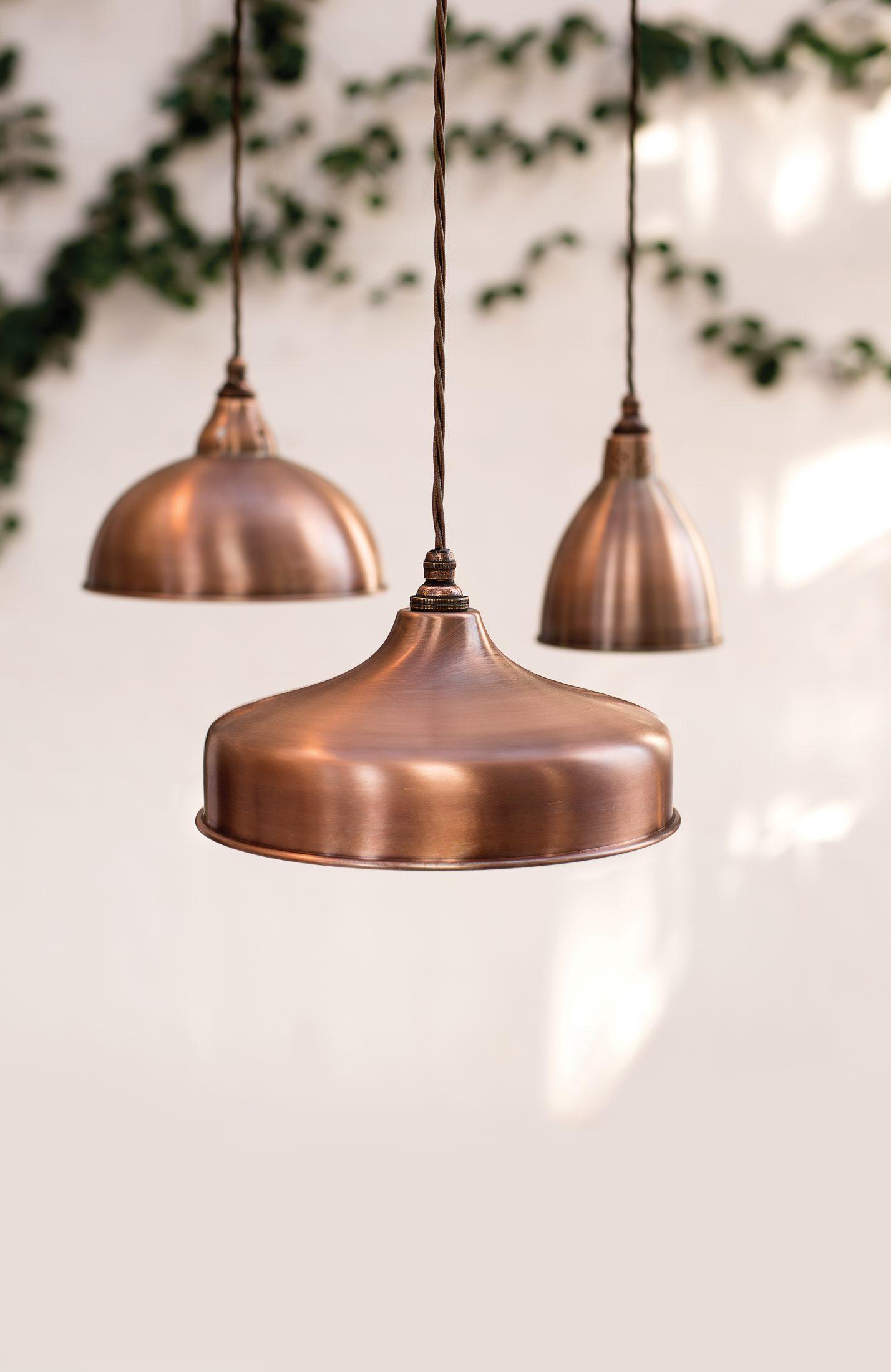 copper pendant light kitchen software jim lawrence lighting