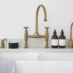 Best Kitchen Soap Dispenser Nook Seating Hm Antique Brass Taps - By Perrin & Rowe