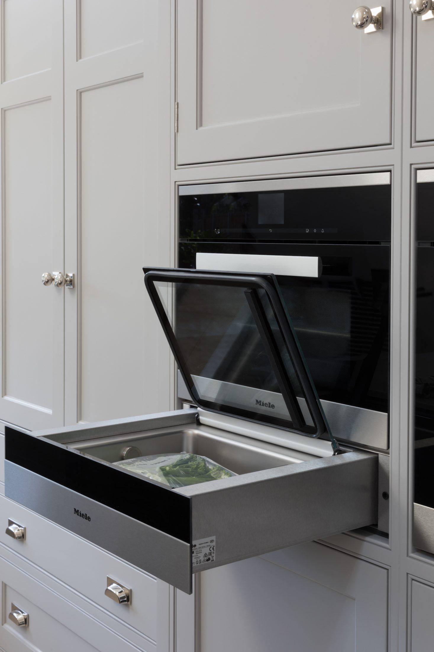 Miele Sous Vide Vacuum Sealing Drawer Humphrey Munson Kitchens