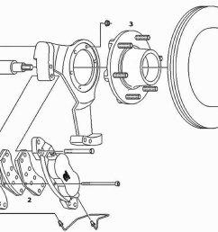 dexter 6k axle disc conversion kit parts illustration [ 1500 x 1056 Pixel ]