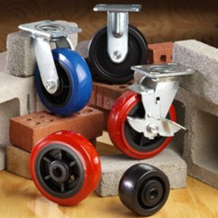 Kitchen Carts On Wheels Navy Cabinets Industrial Casters And Caster Wheels, Material Handling ...