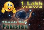 ایک دن میں ایک لاکھ ویو - شکریہ پاکستان