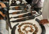 کراچی کے علاقے لیاقت آباد میں رینجرزکی کارروائی ، اسلحے کا بڑا ذخیرہ برآمد