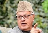 کشمیر اب بھارت کے ہاتھوں سے نکلنے والا ہے: فاروق عبداللہ