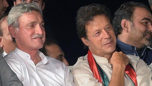 عمران خان، جےانگیر ترین