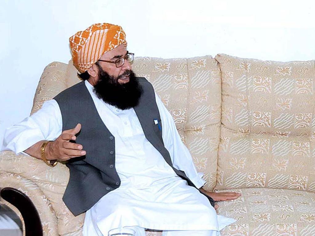 عمران خان طلاق دے کر خواتین کی توہین کر رہے ہیں؛ مولانا عبدالغفور حیدری