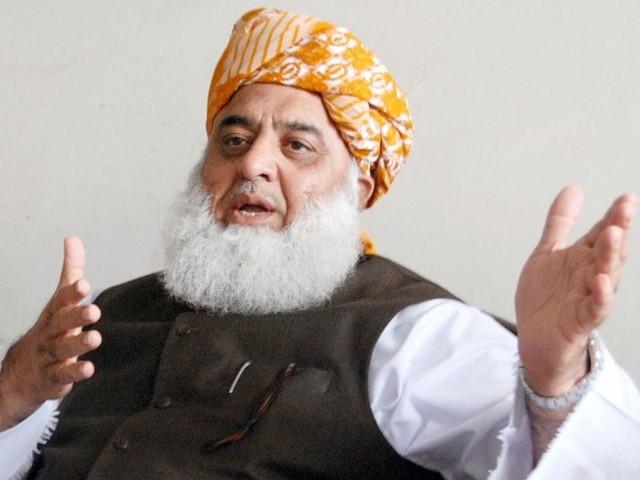 عمران خان کا ججوں کو فریق بنانا قومی سطح کا جرم ہوگا؛ مولانا فضل الرحمٰن