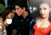 شاہ رخ خان کے ساتھ تعلقات؛ پریانکا بول پڑیں