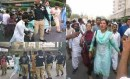 احتجاجی اجتماع پر تشدد میں سندھی لڑکی کے کپڑے پھٹنے پر سندھ میں شدید غم و غصہ