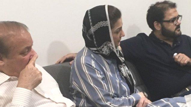 نواز شریف، مریم نواز، حسین نواز