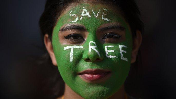 درخت بچانے کی مہم