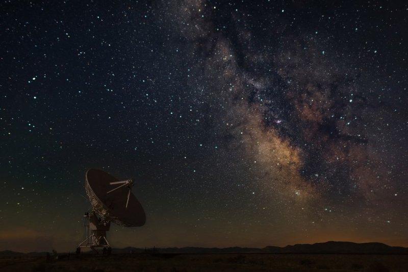 Milky Way at New Mexico