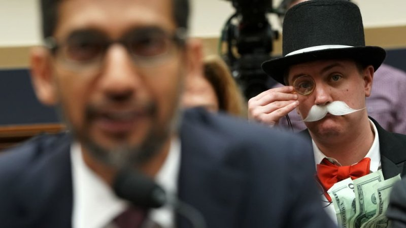 Ian Madrigal as the Monopoly Man