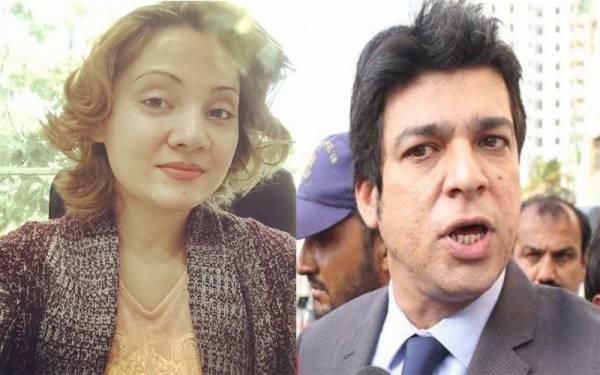 میری بہن! ہو سکتا ہے میری زبان پھسل جاتی ہو لیکن میں عدالت میں روتا نہیں ہوں۔۔۔ غریدہ فاروقی کو فیصل واوڈا کا جواب