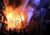 ڈھاکہ: کیمیائی گودام میں آتشزدگی، 60 افراد ہلاک