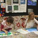 Kindergarten Students Taking Hunakai Studio's Introduction to Art Class
