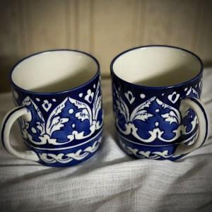 Blue Pottery Multani Mug